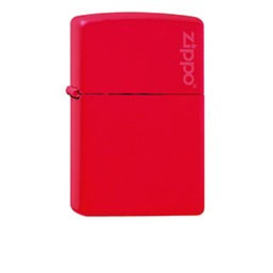 Lighter Zippo Red Matte with Zippo Logo