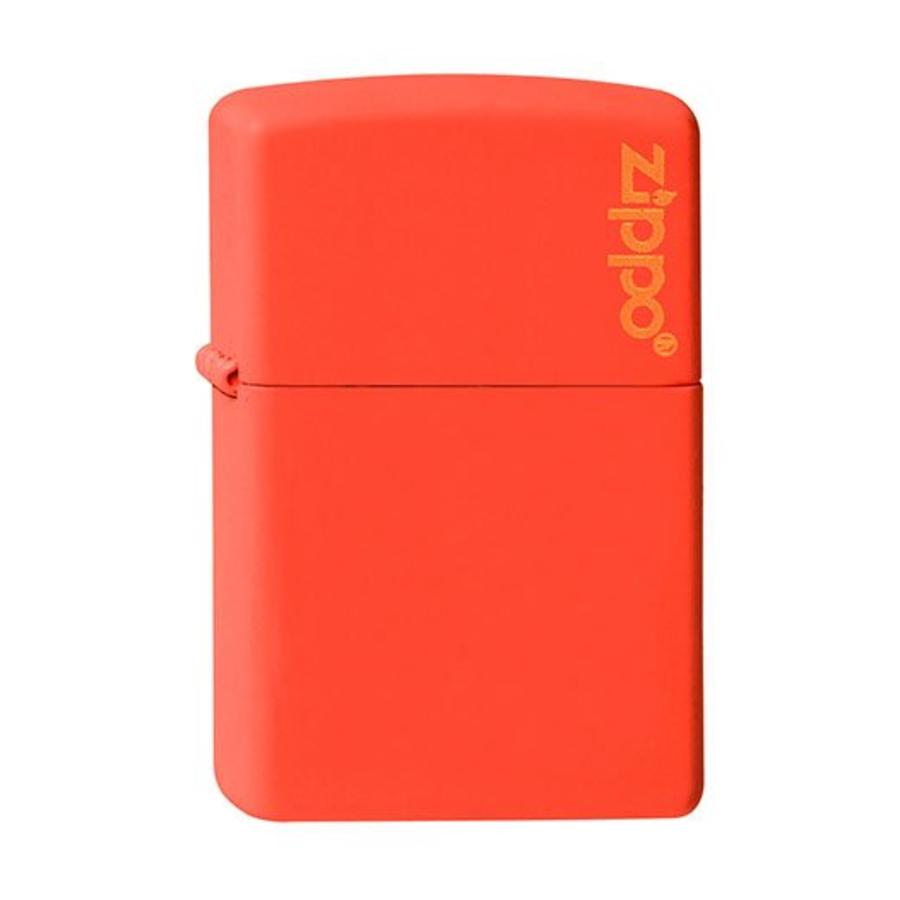 Aansteker Zippo Orange Matte with Zippo Logo