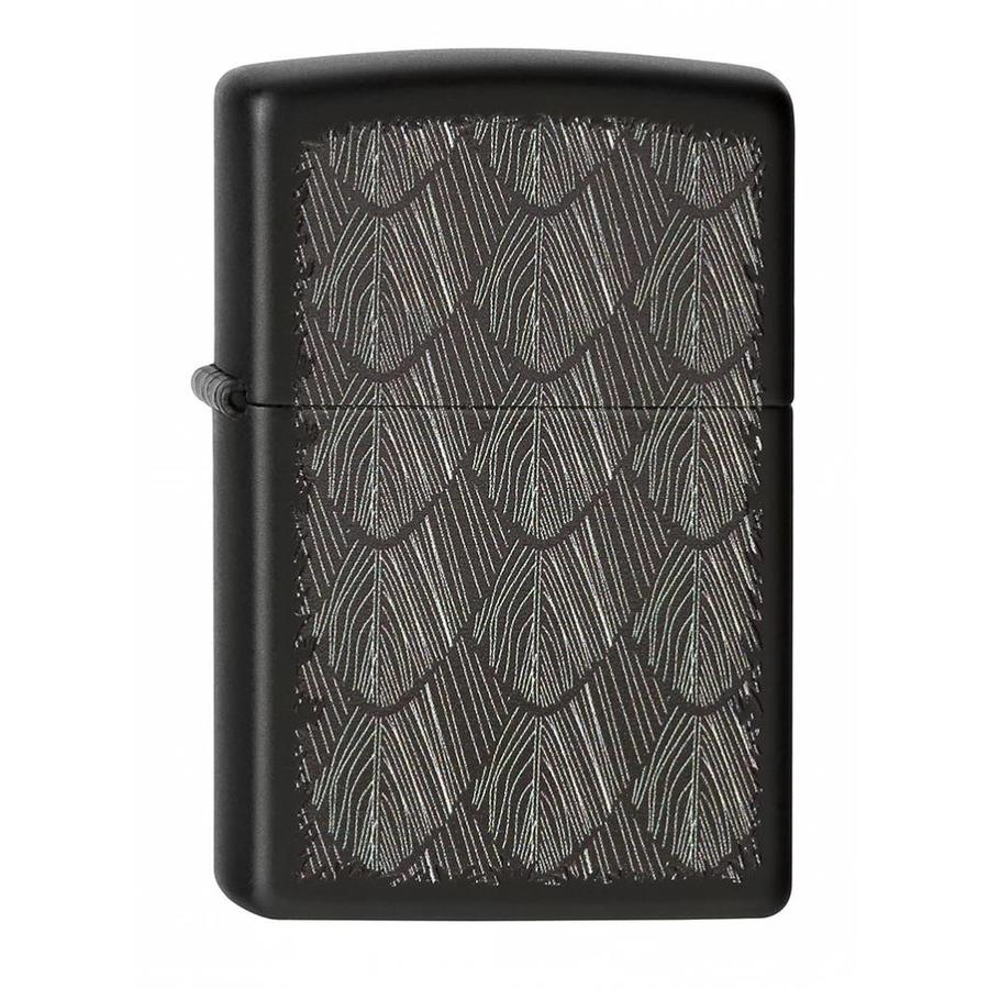 Lighter Zippo Feather Pattern