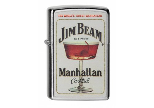 Lighter Zippo Jim Beam Manhattan Cocktail
