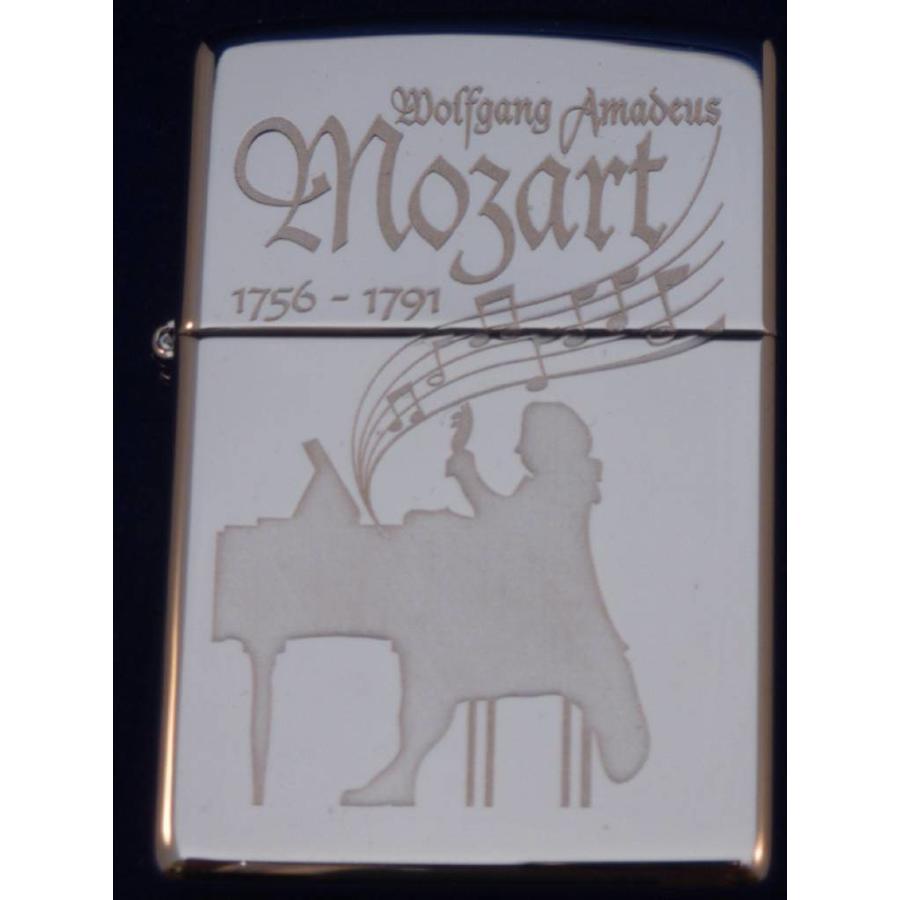Aansteker Zippo Wolfgang Amadeus Mozart