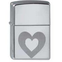Lighter Zippo Double Hearts