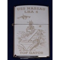 Lighter Zippo USS Nassau LHA 4