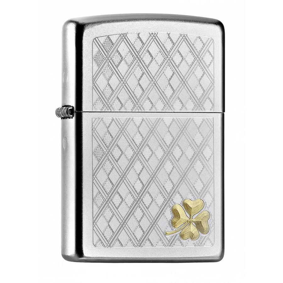 Lighter Zippo Argyle Clover