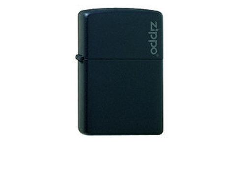 Lighter Zippo Black Matte with Logo