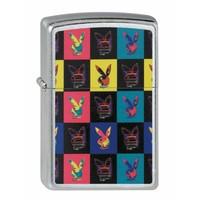 Lighter Zippo Playboy Checker Board