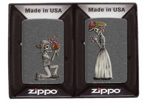 Lighters Zippo Day of Dead Skulls Set
