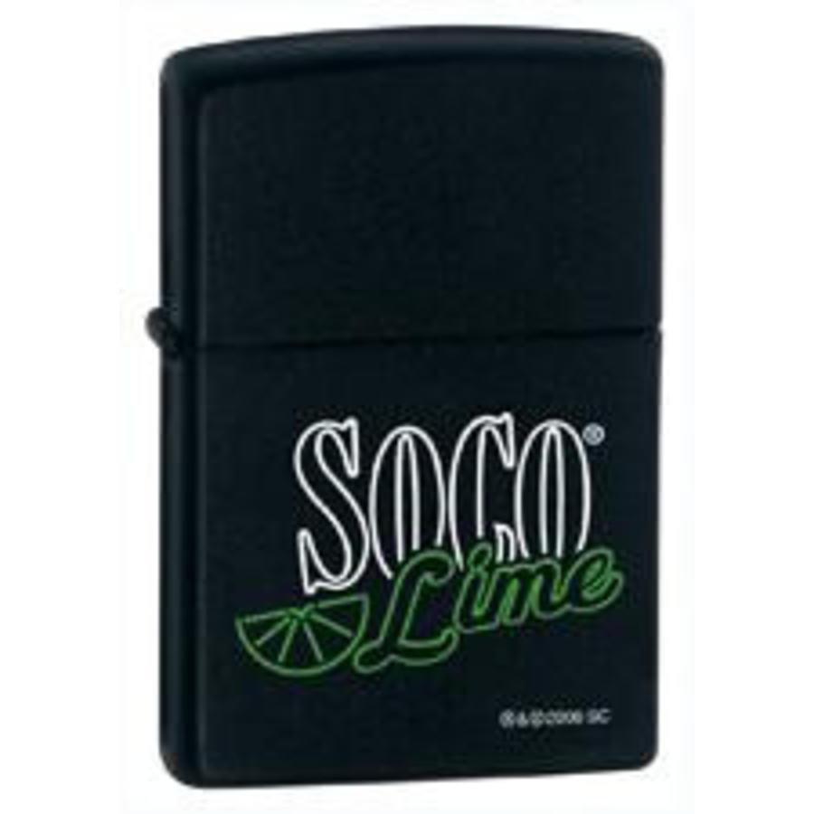 Lighter Zippo Southern Comfort Soco Lime