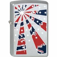 Lighter Zippo Patriotic Starburst