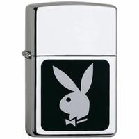 Aansteker Zippo Playboy Bunnyhead Black