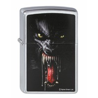 Aansteker Zippo Spiral Direct Collection Lycan Tribe