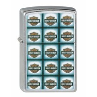 Aansteker Zippo Harley Davidson Bar Shield Repeated