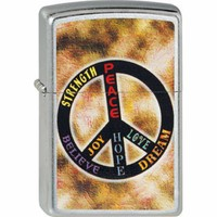 Aansteker Zippo Strength Peace Dream