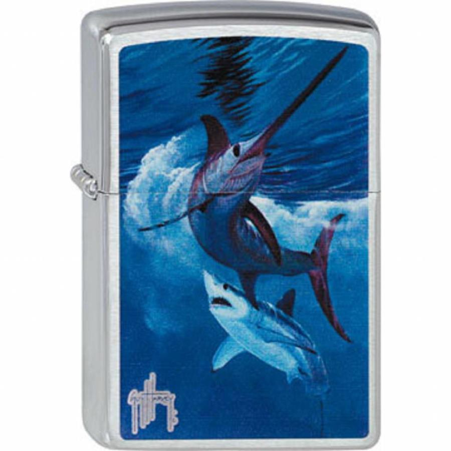 Aansteker Zippo Guy Harvey Live by the Sword