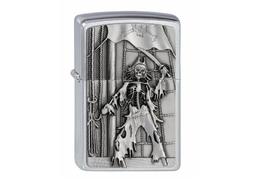 Lighter Zippo Skeleton Pirate