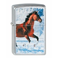Lighter Zippo Horse Galoping