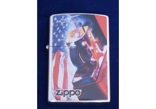 Aansteker Zippo Mazzi Flag Zippo Lighter
