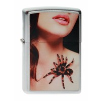 Lighter Zippo Spider and Sexy Woman