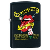 Lighter Zippo Rolling Stones Tattoo You