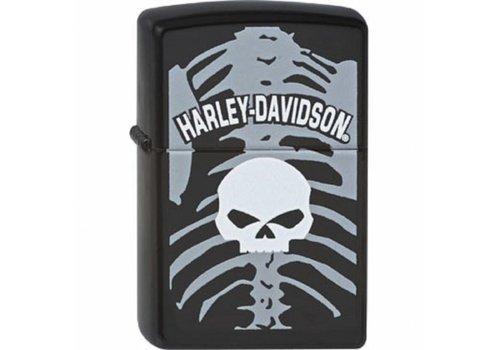 Lighter Zippo Harley Davidson Skull