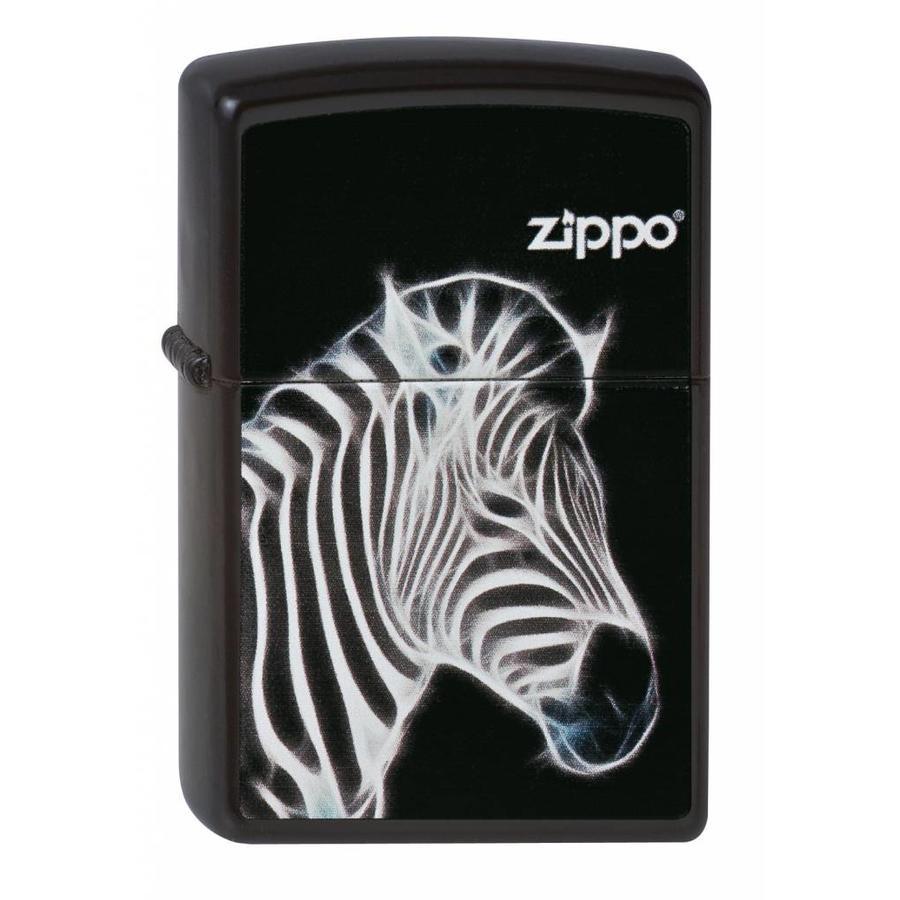 Aansteker Zippo Fractal Zebra