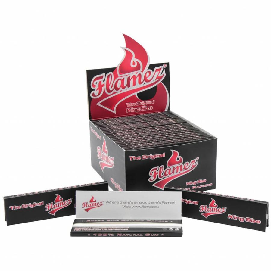 Flamez Kingsize Vloei Regular Box