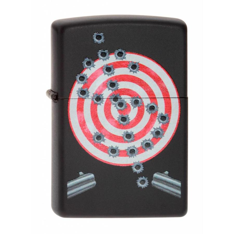 Lighter Zippo Bullet Holes
