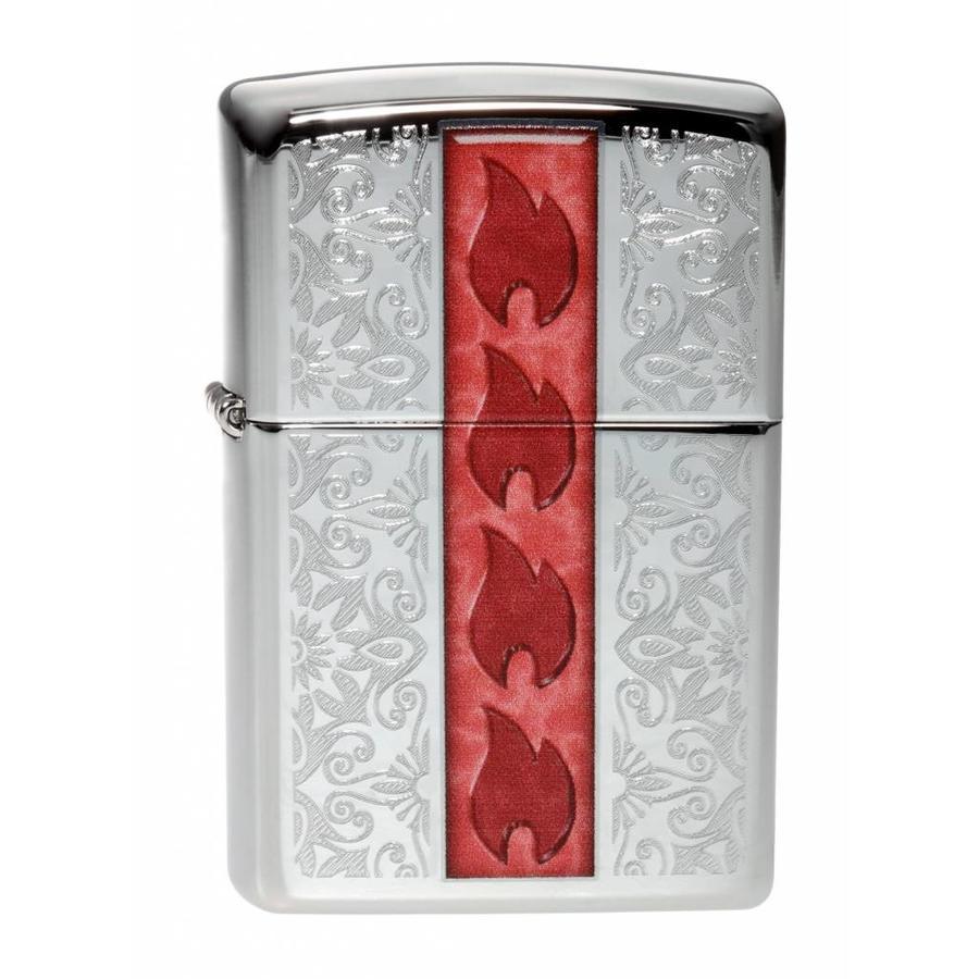 Lighter Zippo Flowering Design