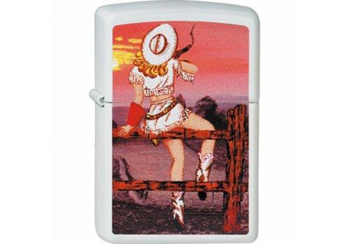 Lighter Zippo Cowgirl