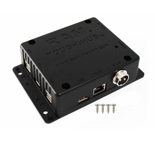 RAM Mount USB Tough-Hub™ for mobile use RAM-234-HUB1U
