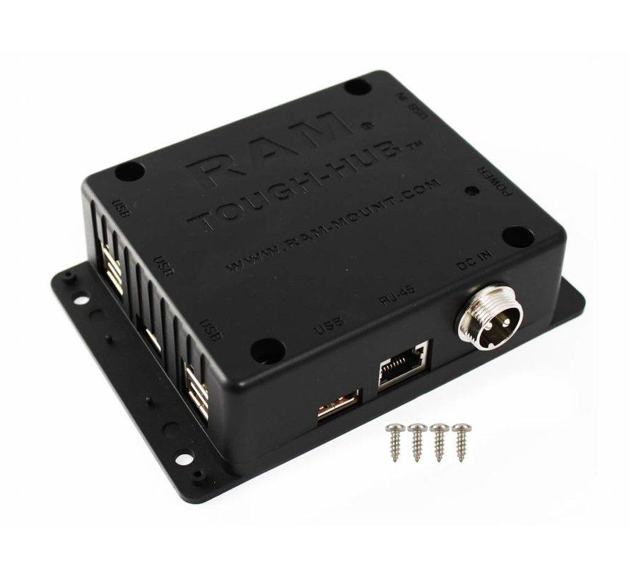 USB Tough-Hub™ for mobile use RAM-234-HUB1U