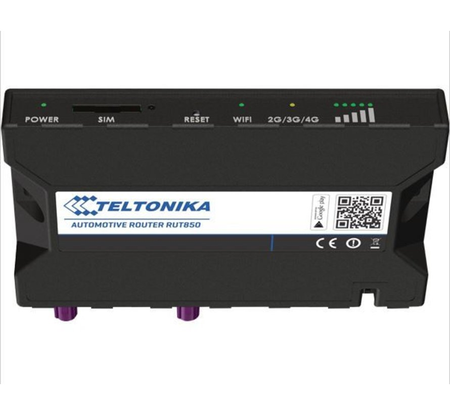Teltonika RUT850 4G LTE router WiFi incl. 2 antennes