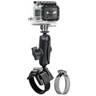 RAM Mount V-Base Strap Mount met GoPro® Camera Ball Adapter