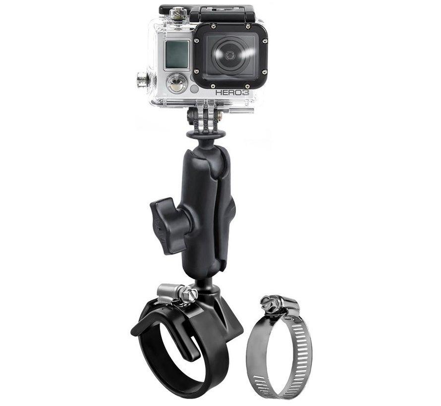 V-Base Strap Mount met GoPro® Camera Ball Adapter