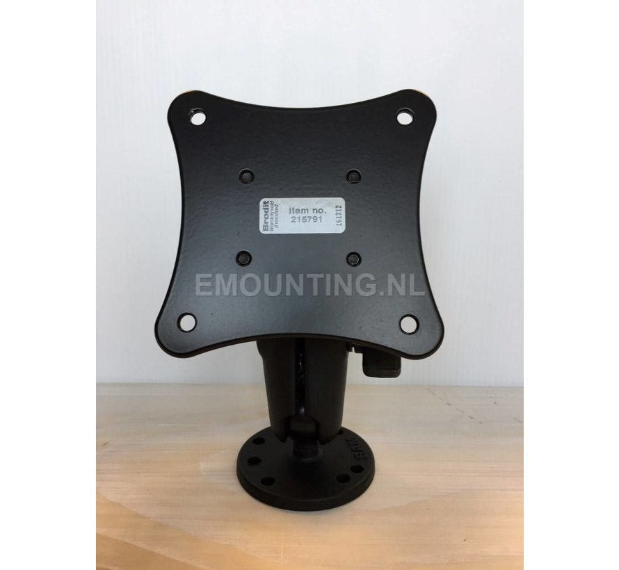 VESA 75 Steun voor vaste montage kleine monitoren.