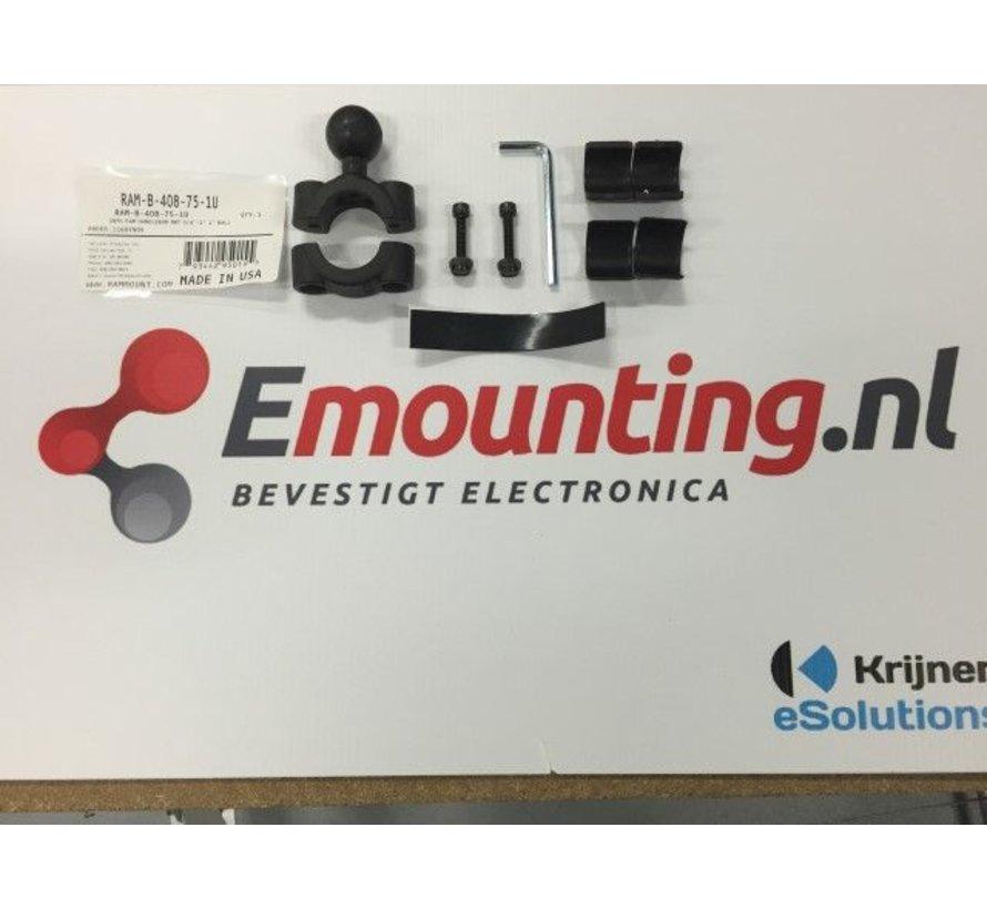 Torque™ stangbevestiging met klemhouder en GoPro adapter