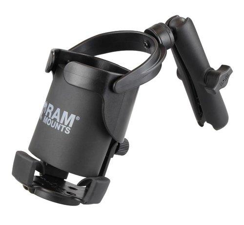 RAM Mount Balancerende drankhouder XL- Level Cup™ XL met lange klemarm