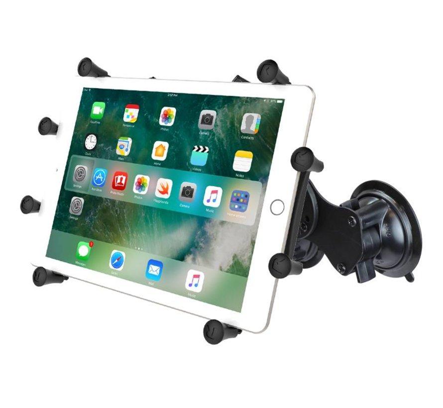 Dubbele Zuignap X-Grip set 10 inch tablets