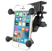 RAM Mount Raamklem met X-Grip houder smartphone set