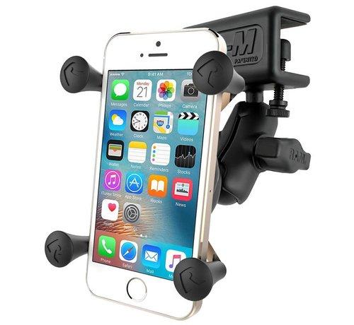 RAM Mount Raamklem composiet met X-Grip houder smartphone set