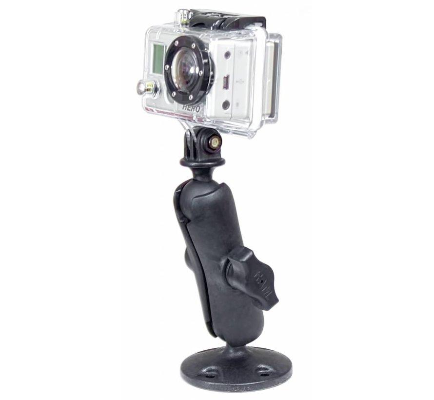 Schroefvaste montage GoPro camera