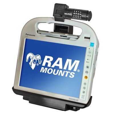 RAM Mount Powered houder Toughbook H1 & H2