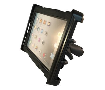 RAM Mount Heavy Duty Tablethouder set 10 inch universeel met/zonder case (TAB-LGU)