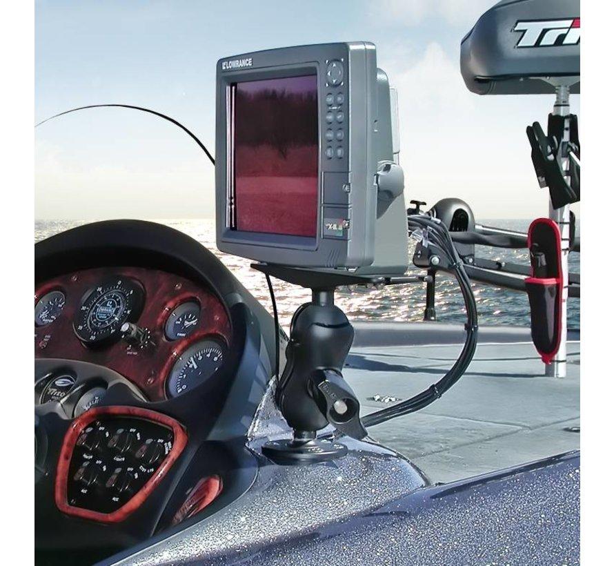 D-maat montage steun Marine GPS en Fishfinders