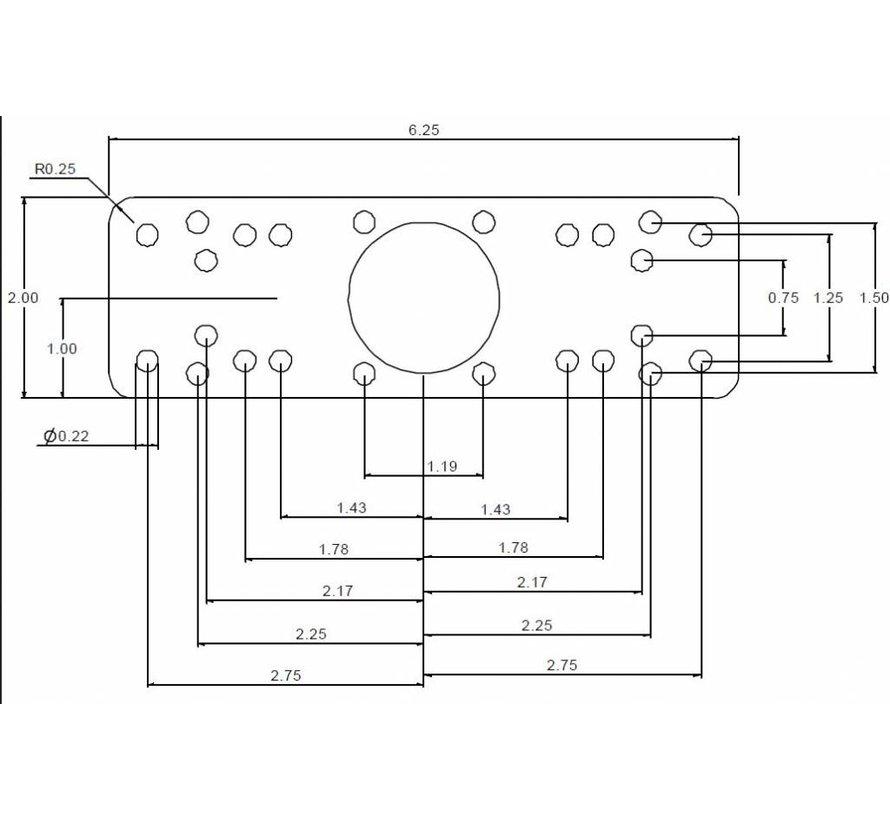 Verticall Single Swing Arm Mount RAM-109VU