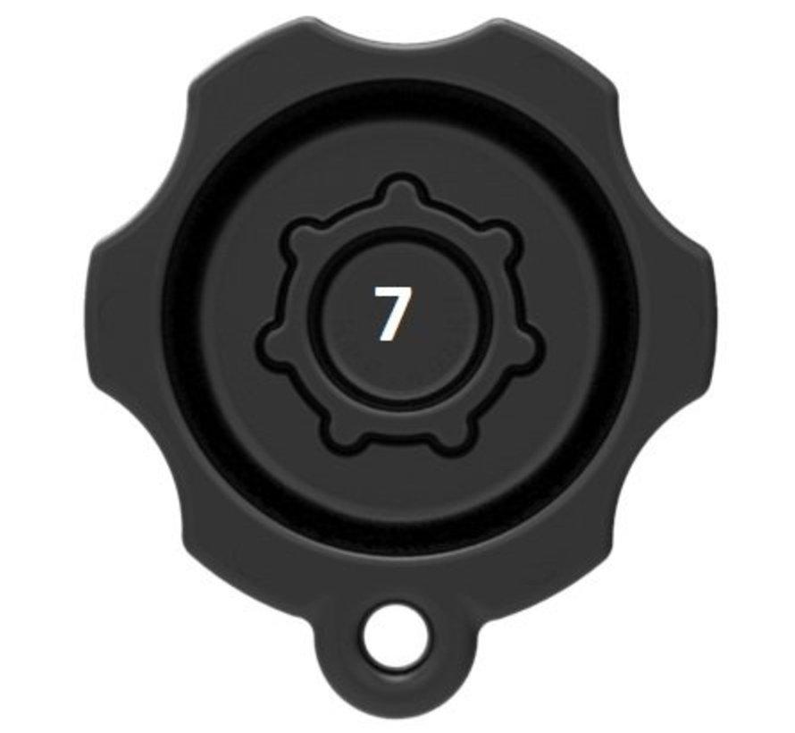 Vervangende Pin-Lock ™ Beveiligde draaidop B-maat
