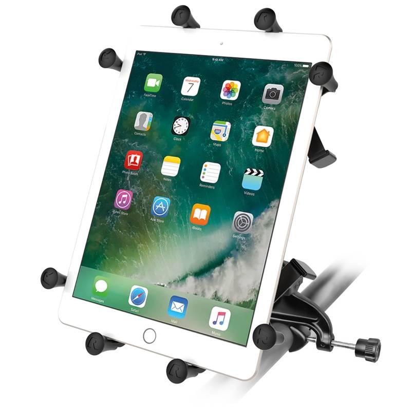 RAM Mount X-Grip 10 inch tablet houder Yoke stangklem