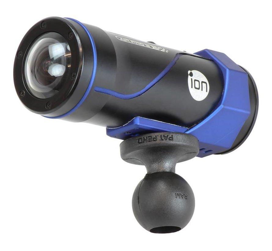 Camera kogel compacte zuignap bevestigingset RAP-B-166-2-366