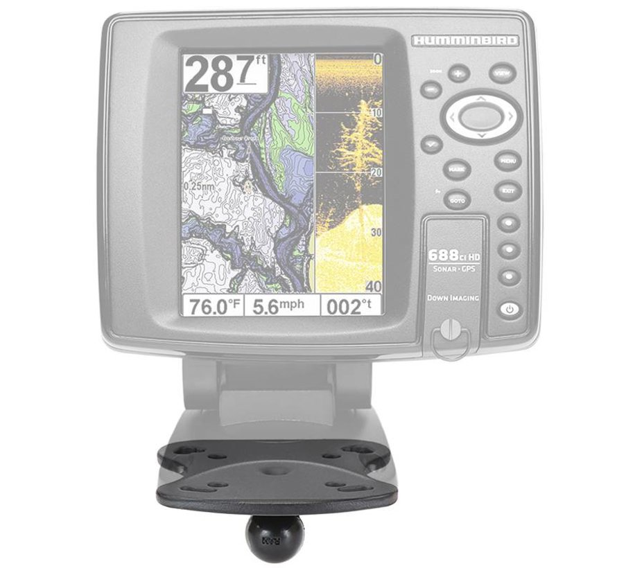 GPS B-Kogel Humminbird en Lowrance
