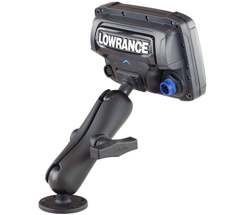 Lowrance Elite-5 C-Kogel mounting set